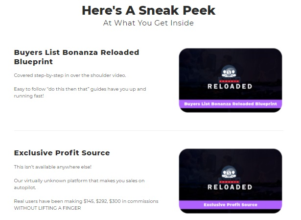 Buyers List Bonanza RELOADED